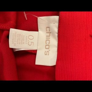 Chicos Red Pants